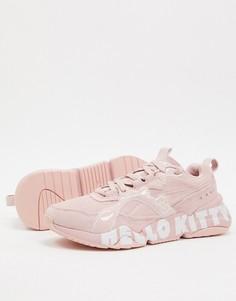 Розовые кроссовки Puma x Hello Kitty Nova 2-Розовый