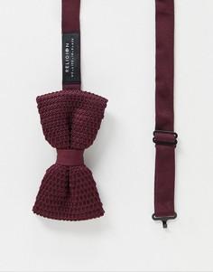 Трикотажный галстук-бабочка Religion-Красный