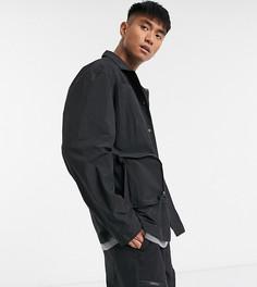 Нейлоновая куртка в стиле милитари COLLUSION-Черный