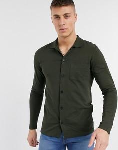 Рубашка из органического хлопка Produkt-Зеленый