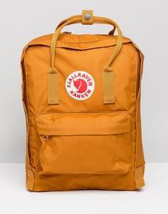 Желтый классический рюкзак Fjallraven Kanken