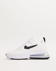 Черно-белые кроссовки Nike Air Max 270 React-Белый