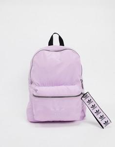 Лавандовый рюкзак с бегунком в виде трилистника adidas Originals-Фиолетовый