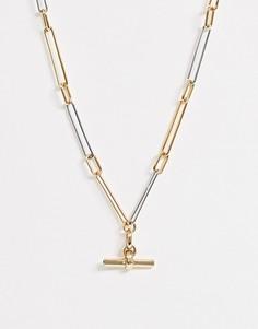 Ожерелье AllSaints-Золотой