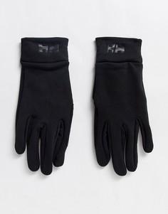 Черные перчатки для сенсорных экранов Helly Hansen-Черный
