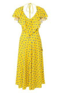 Платье-миди Lanvin