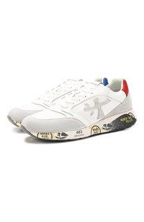 Комбинированные кроссовки Zac-Zac Premiata
