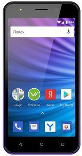 Мобильный телефон Vertex Impress Luck L100 3G (темно-синий)