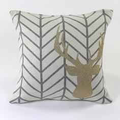 Подушка с рисунком EnjoyMe Golden deer, 45х45 см
