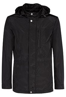 Куртка с отделкой искусственной кожей Jorg Weber