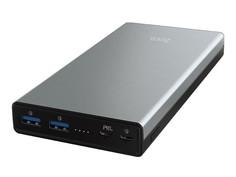 Внешний аккумулятор Hoco Power Bank B39 Magic Stone PD 30000mAh Metal Gray