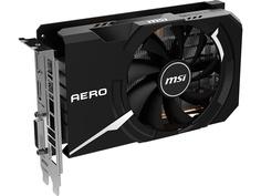 Видеокарта MSI GeForce GTX 1650 Super 1740Mhz PCI-E 3.0 4096Mb 12000Mhz 128 bit DP HDMI DVI-D HDCP GTX 1650 SUPER AERO ITX OC