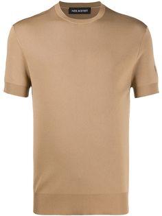 Neil Barrett трикотажная футболка