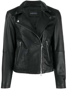 Emporio Armani байкерская куртка на молнии