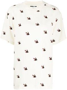 McQ Alexander McQueen футболка с принтом
