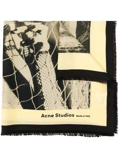 Acne Studios бандана с принтом