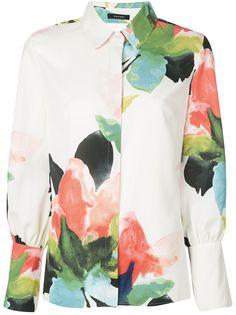 Natori блузка с принтом