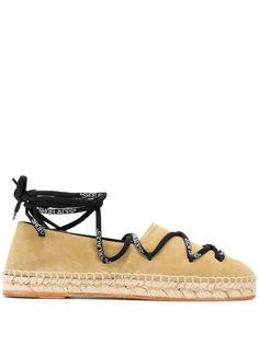 Off-White эспадрильи на шнуровке