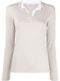 Fabiana Filippi рубашка-поло с длинными рукавами