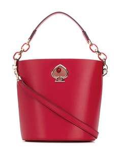 Kate Spade сумка-ведро с логотипом