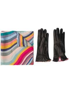 Paul Smith шейный платок с изогнутыми полосками