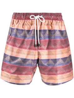 Missoni плавки-шорты с принтом
