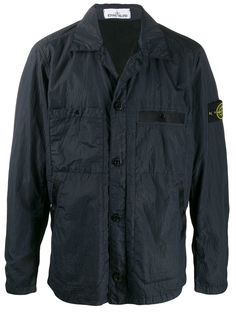 Stone Island легкая куртка с накладными карманами