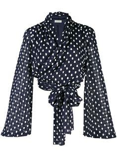 Stine Goya блузка Clover с драпировкой