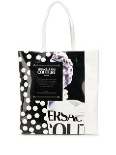 Versace Jeans Couture сумка-тоут с принтом