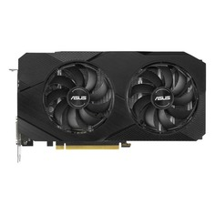 Видеокарта ASUS nVidia GeForce GTX 1660SUPER , DUAL-GTX1660S-6G-EVO, 6ГБ, GDDR6, Ret