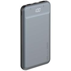 Внешний аккумулятор Deppa NRG Alum 10000mAh, Graphite (33557)