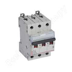Автоматический модульный выключатель legrand 3п c 16а 6ка dx3-e leg 407291 1009871