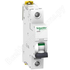 Автоматический выключатель schneider electric acti 9 ic60n 1p 6a se a9f78106
