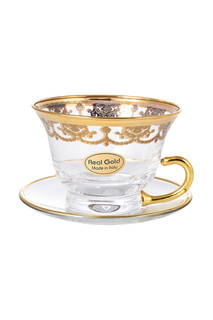 Набор чайных пар 220 мл 6 шт. Art Decor