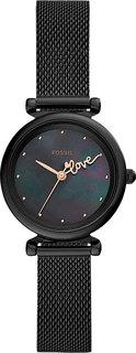 Женские часы в коллекции Carlie Mini Женские часы Fossil ES4829