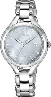 Японские женские часы в коллекции Eco-Drive Женские часы Citizen EW2560-86X