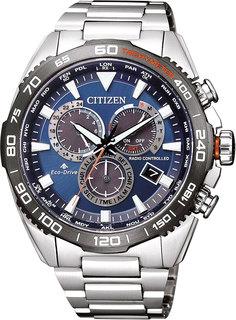 Японские мужские часы в коллекции Eco-Drive Мужские часы Citizen CB5034-82L