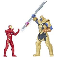 Игровой набор Hasbro Avengers Infinity Танос и Железный человек E0559121