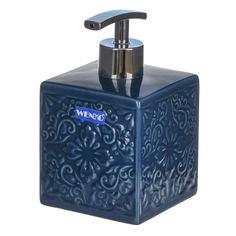 Дозатор для мыла Wenko sanitary cordoba тёмн-синий