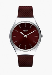 Часы Swatch SKINBURGUNDY
