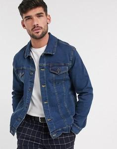 Джинсовая куртка с логотипом French Connection-Серый