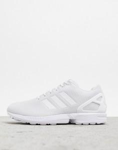 Белые кроссовки adidas Originals ZX Flux-Белый