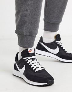 Черные/белые кроссовки Nike Tailwind 79-Черный