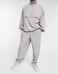 Серые джоггеры от комплекта ASOS WHITE-Серый