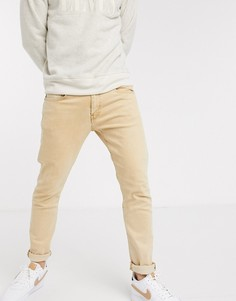 Выбеленные светло-коричневые зауженные джинсы Levis 512-Светло-коричневый