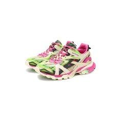 Комбинированные кроссовки Track.2 Balenciaga