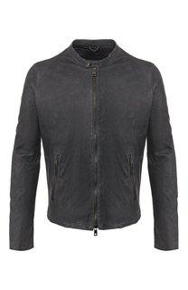 Кожаная куртка Giorgio Brato