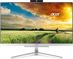 Моноблок Acer Aspire C22-865 DQ.BBSER.014 (серебристый)