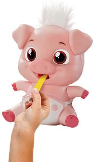 Интерактивная игрушка ABtoys Лакомки-Munchkinz Свинка 51628