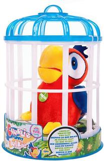 Интерактивная игрушка IMC toys Club Petz Funny Попугай Charlie (красный)